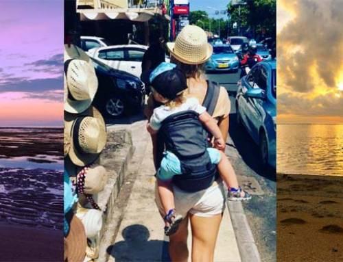 Rodina na cestách – Bali