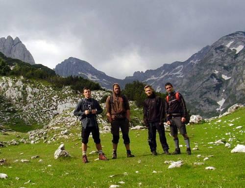 Balkánský poloostrov a jeho nejvyšší vrcholy