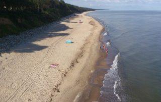 baltské moře pláž