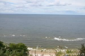 Baltské moře vyhlídka Gosan Mezizdroje Polsko