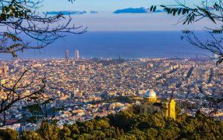 barcelona pohled