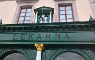 Barokní lékárna U Bílého jednorožce Klatovy