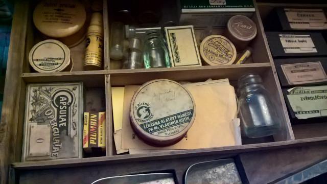 Barokní lékárna U Bílého jednorožce Klatovy 2