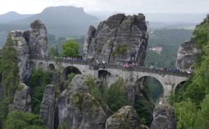 bastei skalní most