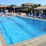 Relax u bazénu, koupání v moři a foto okolí Sidari
