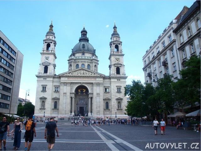 bazilika sv. štěpána budapešť maďarsko