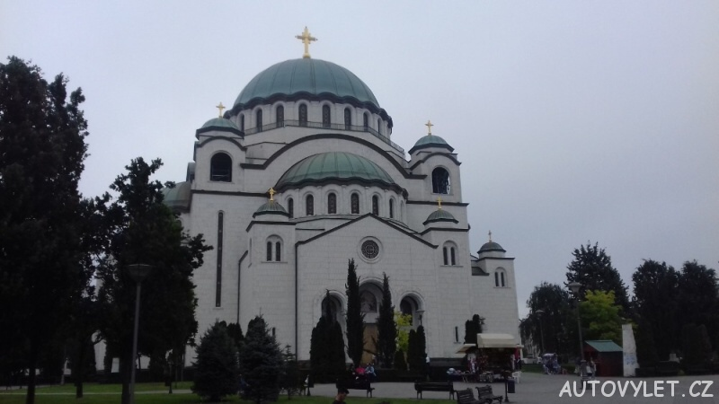 Bělehrad - jeden z největších pravoslavných chrámů na světě