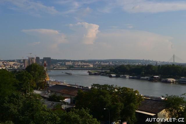 Bělehrad Srbsko stopem