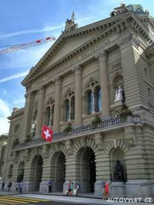 Bern město - Švýcarsko - federální palác