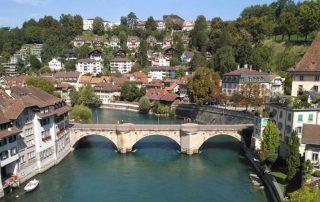 Bern město - Švýcarsko - most