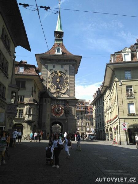 Bern město - Švýcarsko - orloj