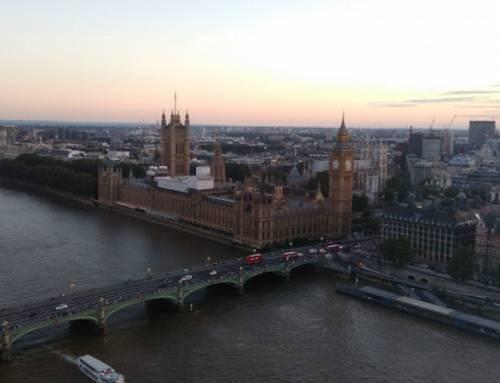 """Londýn letadlem """"na otočku"""""""