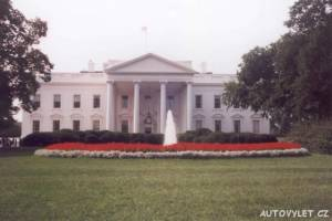bílý dům - white house - washington usa