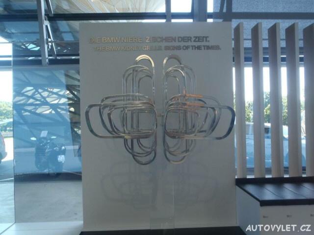 BMW muzeum Mnichov Německo 3