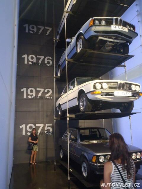 BMW muzeum Mnichov Německo 4