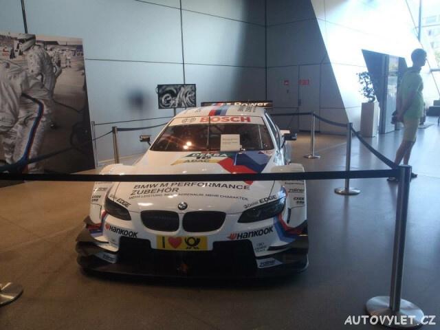 BMW muzeum Mnichov Německo 5