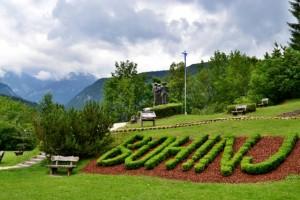 Bohinjske jezero Slovinsko