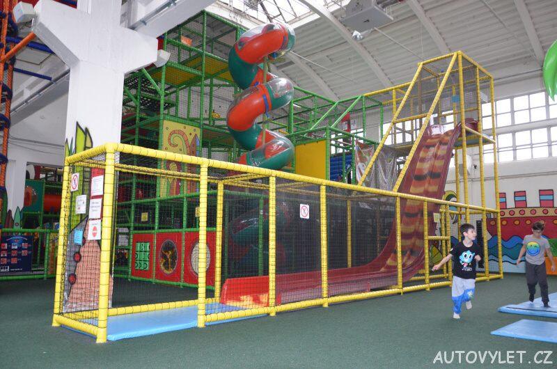 Bongo Brno - zábavní park a rodinné centrum - prolézačky