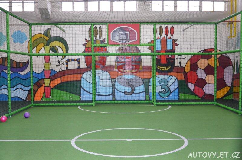 Bongo Brno - zábavní park a rodinné centrum - hřiště na fotbal a basketball
