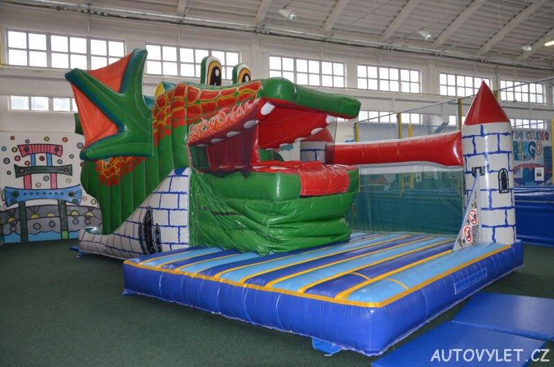 Bongo Brno - zábavní park a rodinné centrum - nafukovací drak