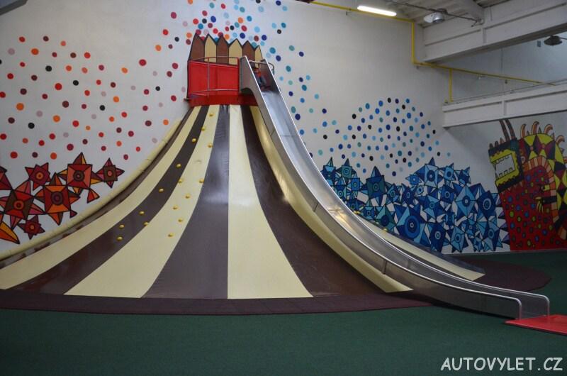 Bongo Brno - zábavní park a rodinné centrum - klouzačka