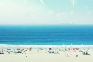 Brazílie pláž