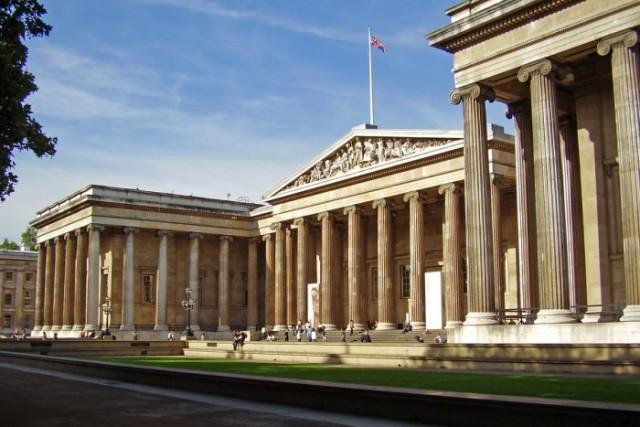 Britské muzeum Londýn