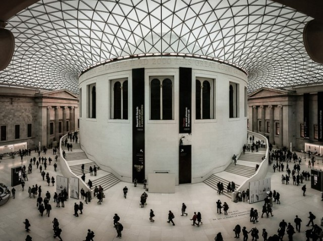 Britské muzeum Londýn 2