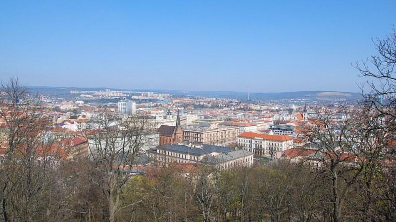 Brno město - vyhlídka