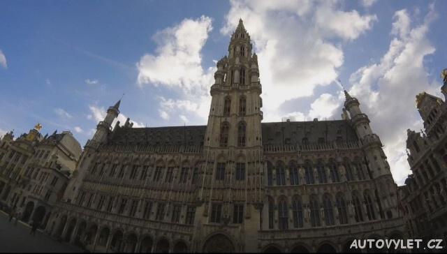 Brusel Belgie náměstí