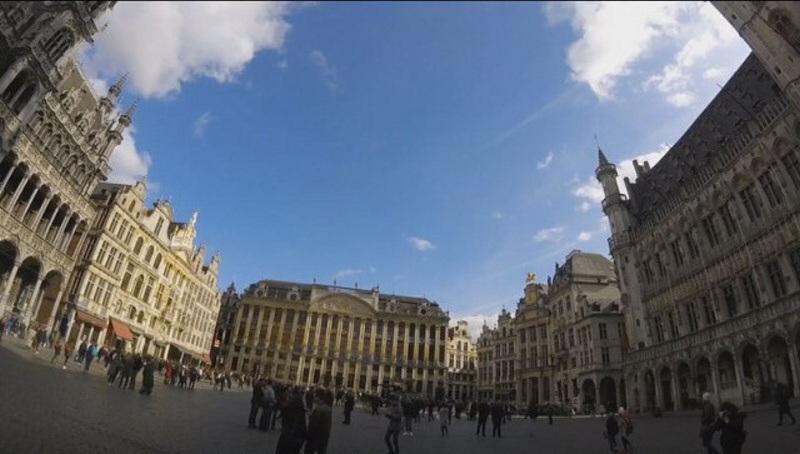 Brusel Belgie náměstí 2