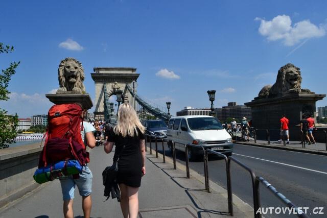 Budapešť Maďarsko stopem