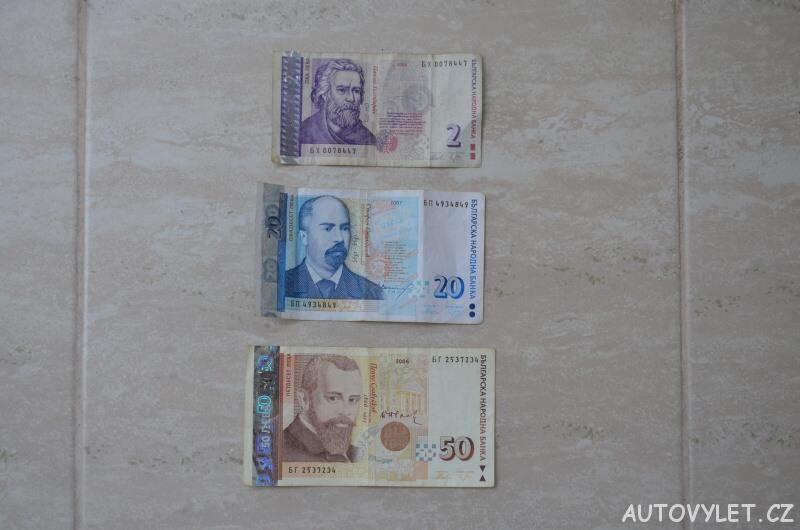 bulharská mšna leva bankovky 2 20 50