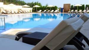 bulharsko hotel bazén