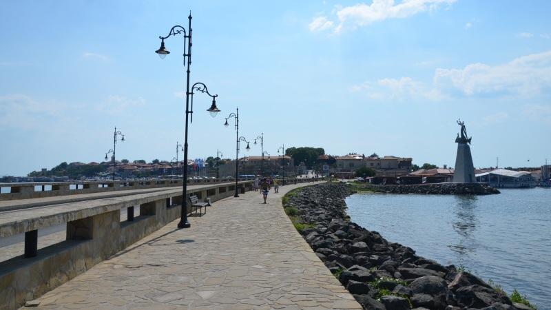 bulharsko nesebar historické město