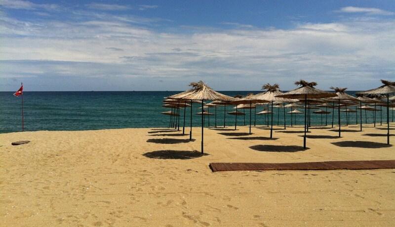 bulharsko pláž moře