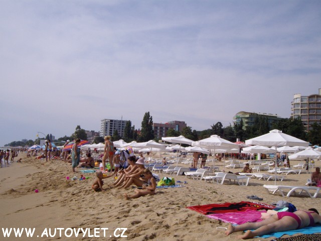 Bulharsko Zlaté písky hotel Edelweiss 1