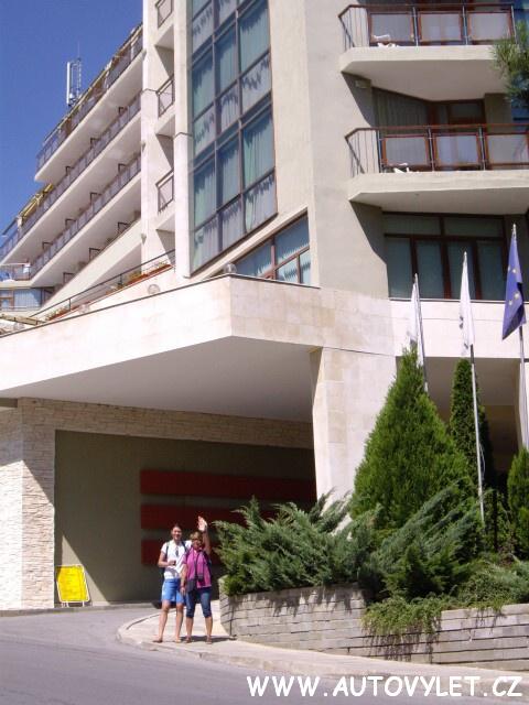 Bulharsko Zlaté písky hotel Edelweiss