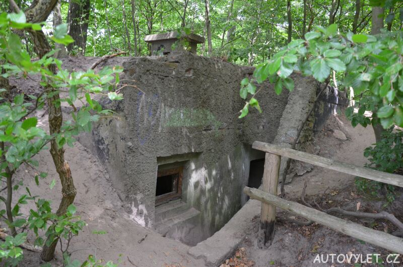 Bunkr - vyhlídka Gosan Mezizdroje Polsko