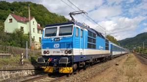 ČD České dráhy vlak