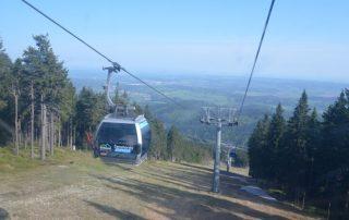 Černohorský express - Janské lázně - Černá hora - kabinová lanovka