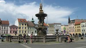 České Budějovice - náměstí