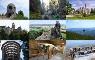 České výlety nejkrásnější