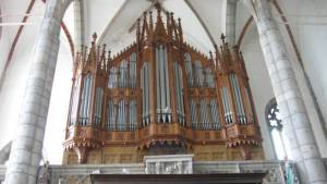 Český Krumlov - sv. Vít varhany