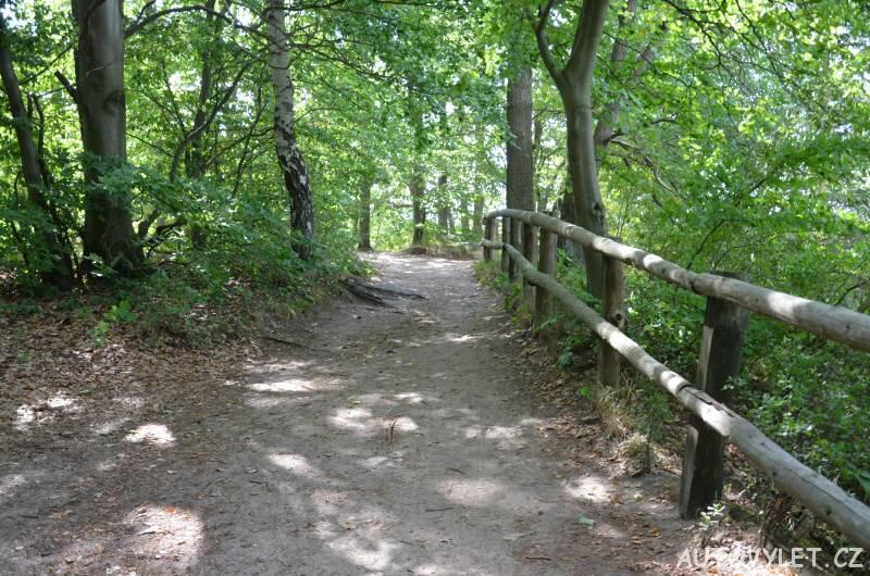 Cesta na vyhlídku na Tyrkysové jezero v Polsku