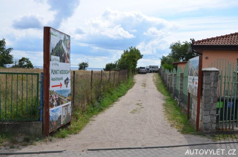 Cesta - vyhlídka Lubin Polsko