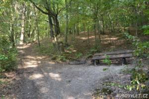 Cestou na Vrabinec - lavička