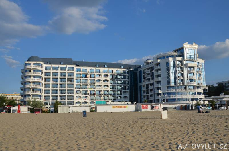 chaika hotel sunny beach bulharsko