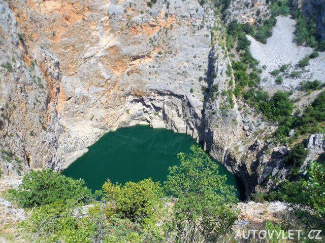 Červené jezero - Chorvatsko