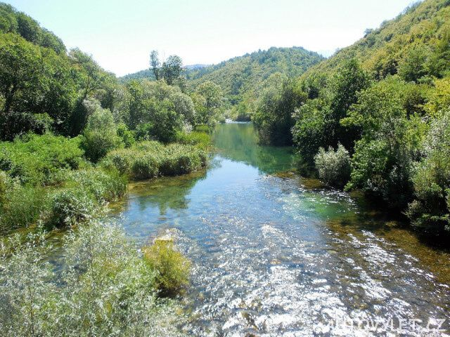Řeka Cetina - Chorvatsko